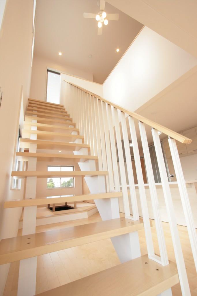 住宅の要、階段 その3