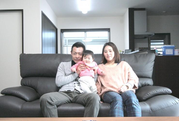 3世代で住むバリアフリー住宅