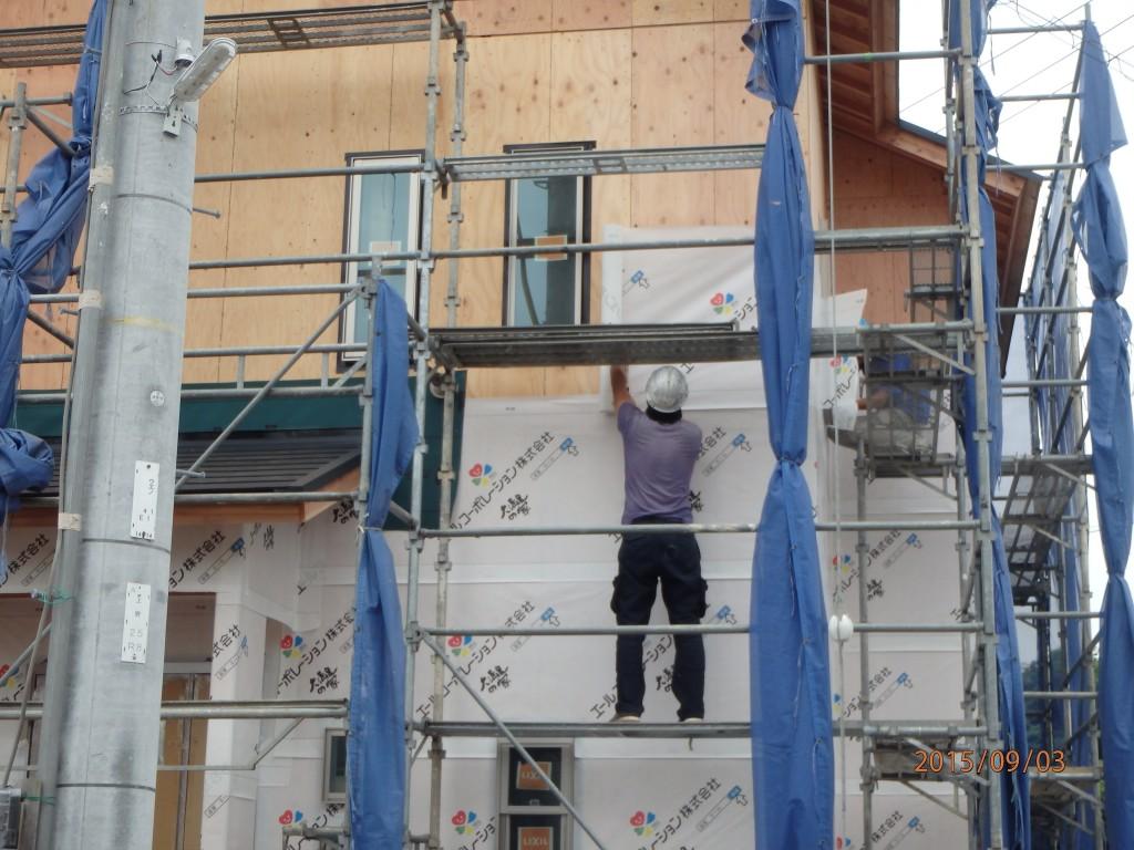 外壁工事 その2