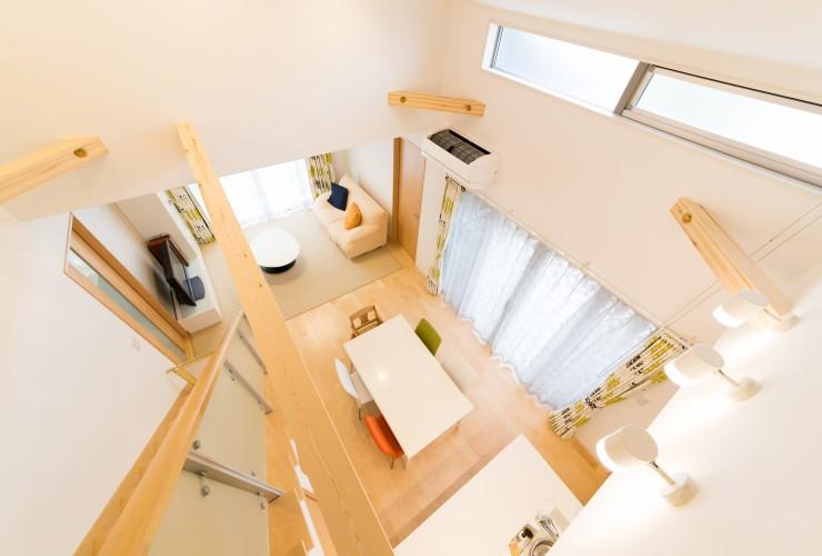 延床面積29坪で建てた中庭を囲む3LDK+ロフト付き平屋住宅