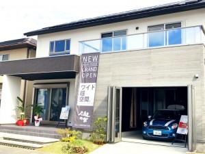 新モデルハウスオープンしました!!