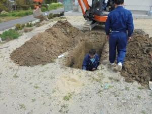 埋蔵文化財 試掘調査