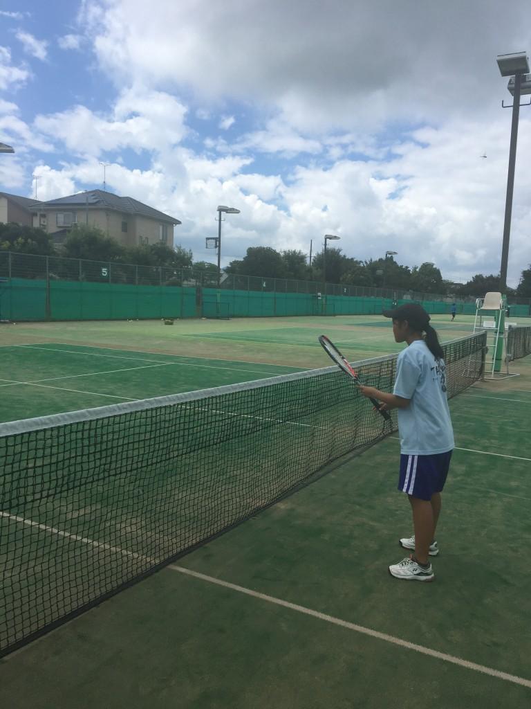 軟式テニス部OB!!