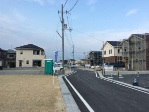 ユートピアタウン石田町!間もなく第1棟目完成です。