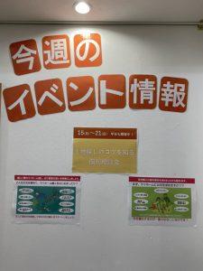 展示場の設営